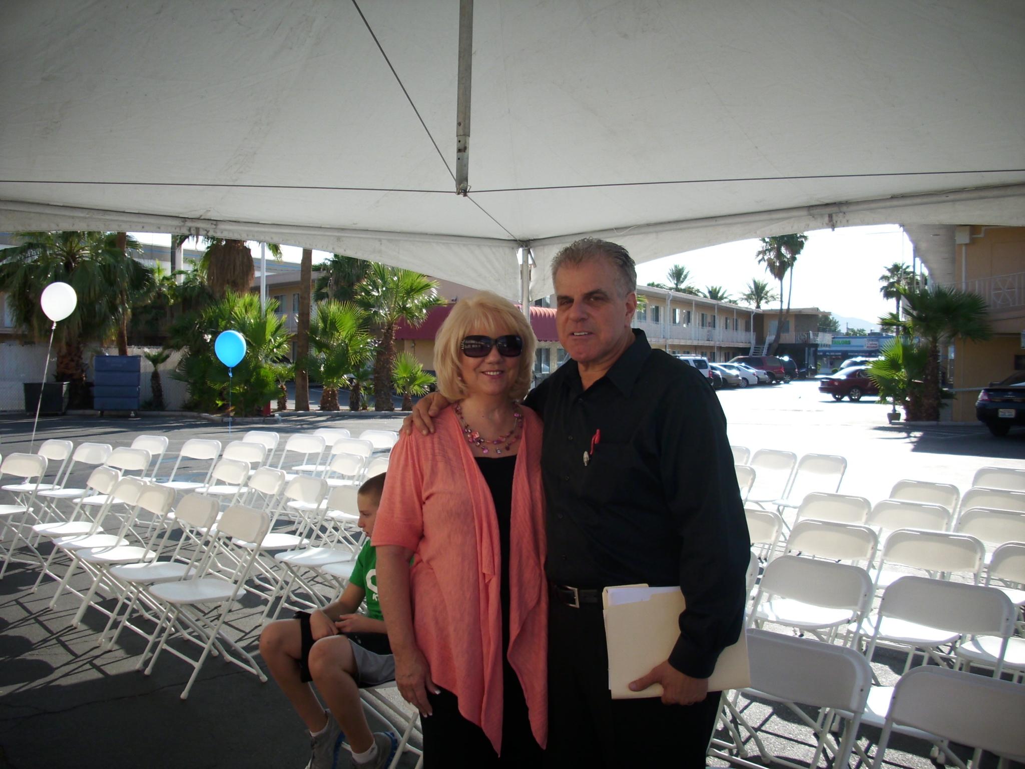 Dr. Arnold Stalk & Denna Atkinson