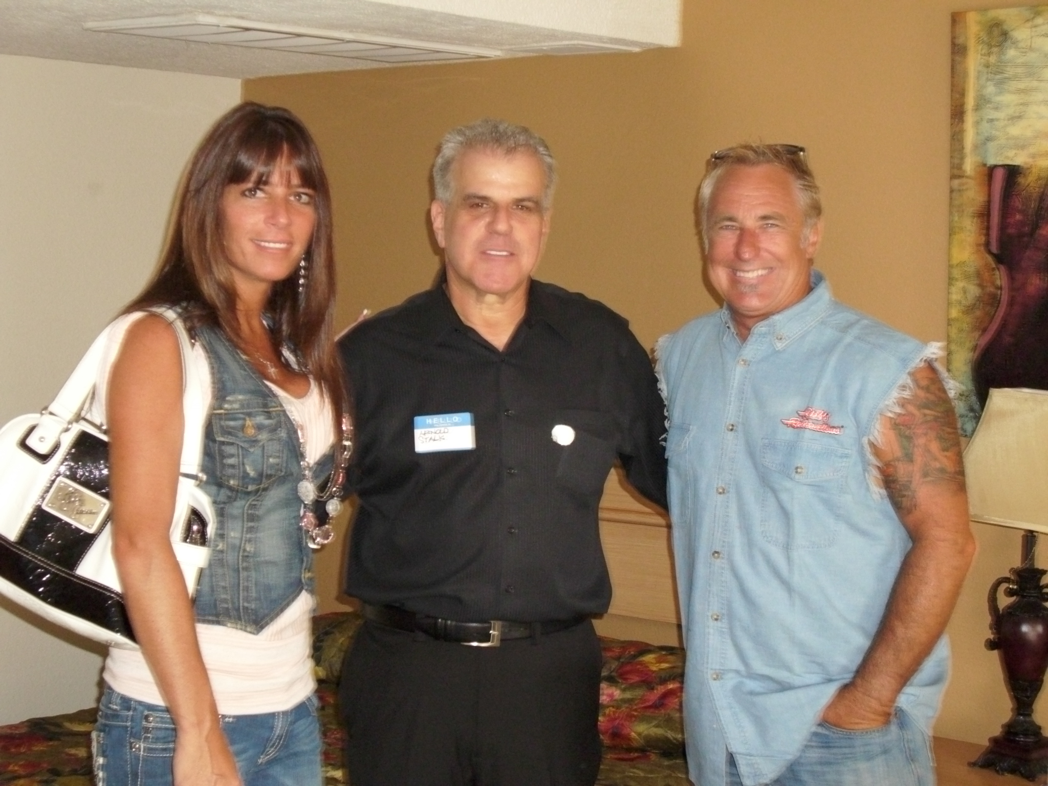 Arnold Stalk and Rick and Kelly Dale from American Restoration