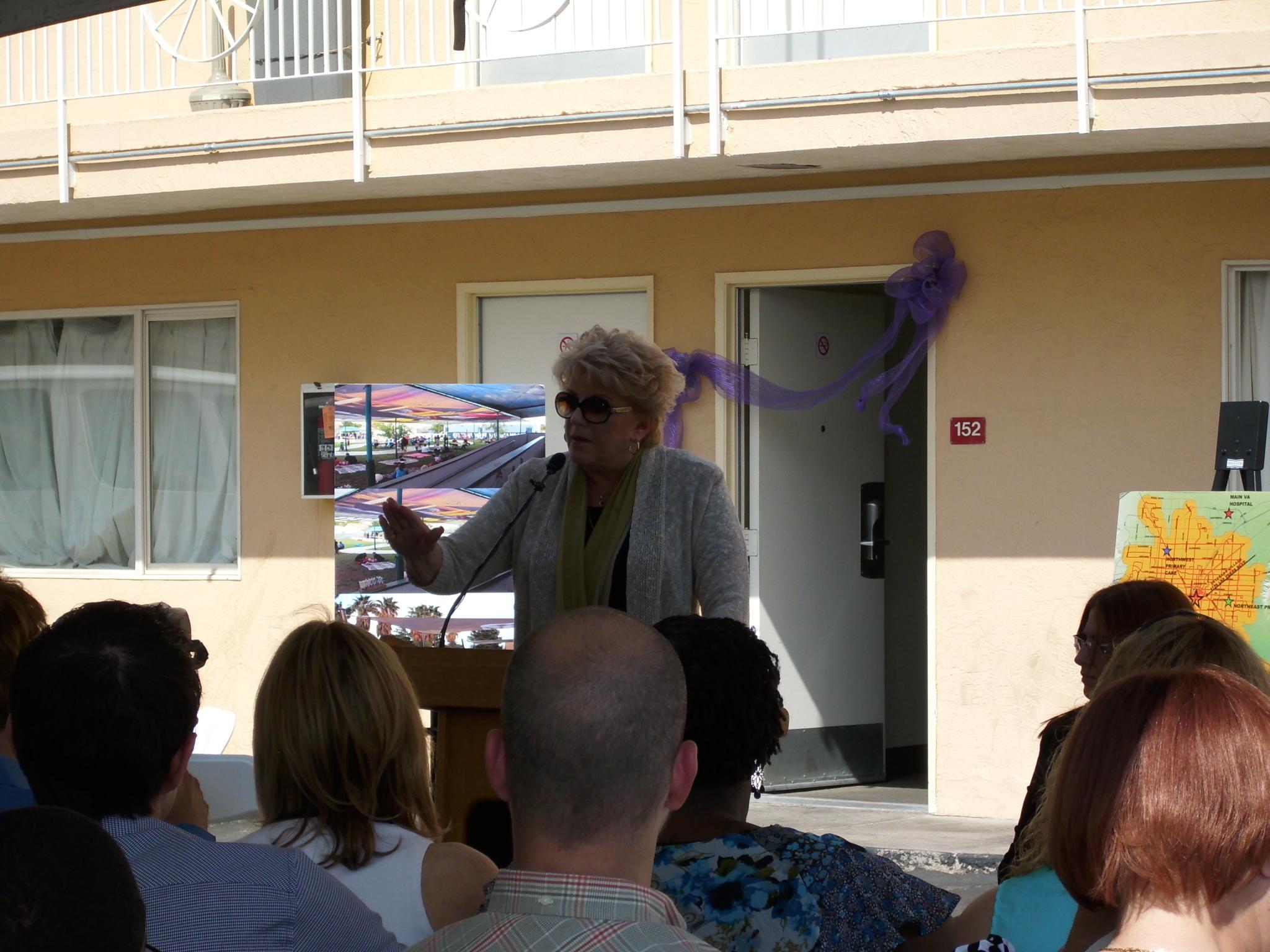 Las Vegas' Mayor Carolyn Goodman